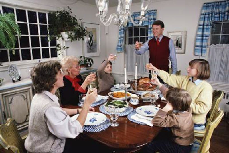 thanksgiving a family tradition in america