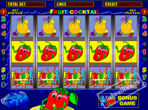 fruit cocktail игровые автоматы