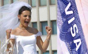 виза невесты в сша