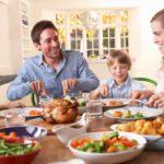 праздничный американский ужин