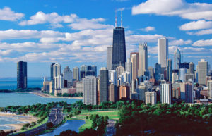 Город Чикаго в США