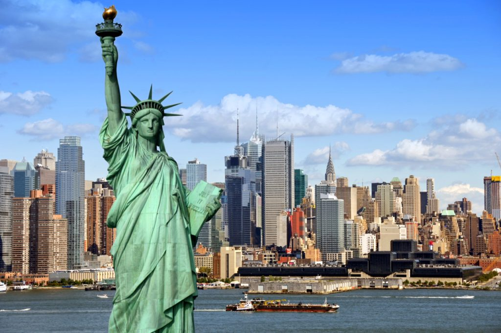 Путешествие в США