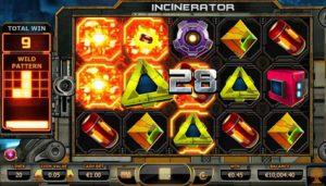 Incinerator в казино Sol